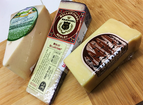 Where to start? How about 3 great cheeses from Earth Fare
