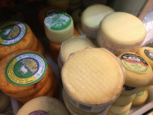 Extremely Affordable Cheeses, Including Serra, Found in a Local Market of Portugal.
