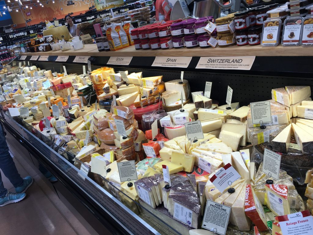 Cheese Counter at Grovetown Kroger