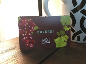 $25 Whole Foods Gift Certificate